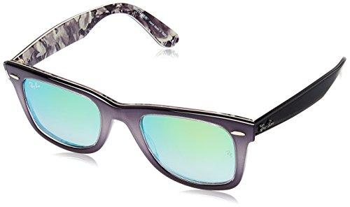 f6d710821caca Gris Light Grey Azul Grey Ban Gafas Sol Grad MOD 2140 On Ray de Top Unisex  gyZny