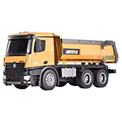 ❄❄Specification: ❄❄ ❄❄Brand: HuiNa Toys ❄❄Item No.: 1573 ❄❄Version: RTR (Ready To Run) ❄❄Material: Plastic/Electronic/Metal ❄❄Car Size: 45 x 19 x 14cm / 18 x 7.6 x 5.6in ❄❄Frequency: 2.4G ❄❄Scale: 1/14 ❄❄Motor Type: Brushed ❄❄Car Battery: 7.2...