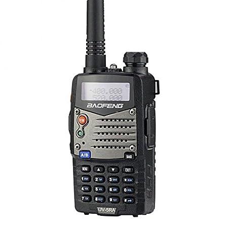 side facing baofeng uv5ra two-way radio
