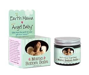 Earth Mama Angel Baby Earth Mama Bottom Balm, 2-Ounce Jars (Pack of 3)