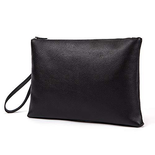 Black Fashion Men Mens Big Nszpxkb Bag Envelope Soild Large Bags Clutch w08AqU8g