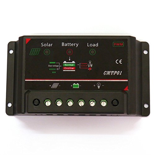 CMTP01-5A PWM Solar Charge Controller 12V Auto Solar Charge Controller coinbuylot
