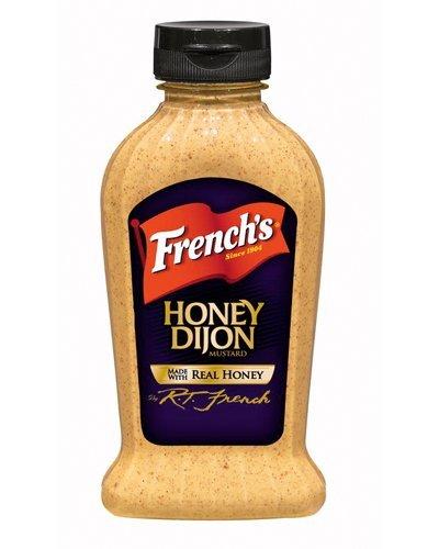 French's Honey Dijon Mustard 12 Oz (Pack of 3)