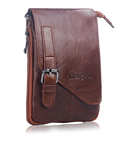 Vertical Leather Crossbody Shoulder Keychain Advantages