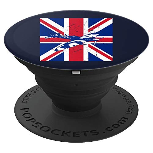 - Spitfire Vintage British WWII Fighter Airplane Design Gift - PopSockets Grip and Stand for Phones and Tablets