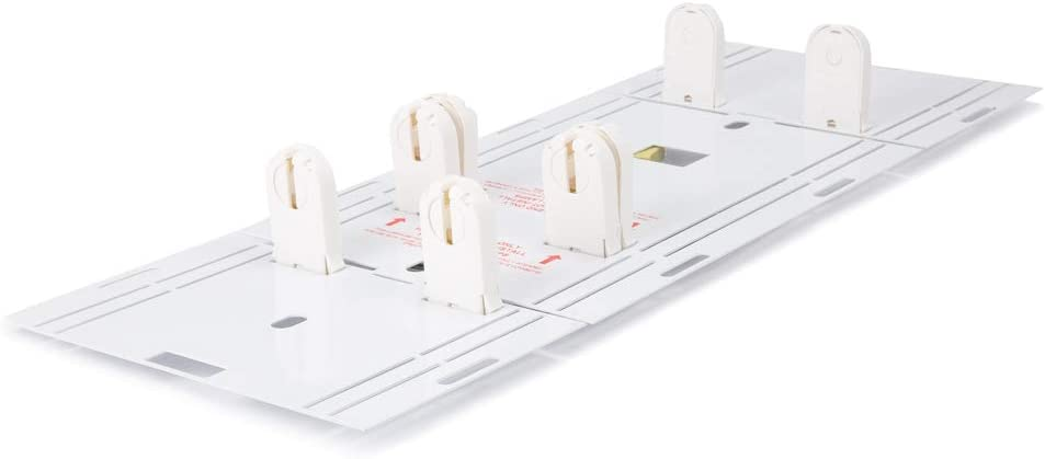 TOGGLED 41-01757 41-01846 8' to 4' Fixture Conversion Kit (Fluorescent to LED Tubes)