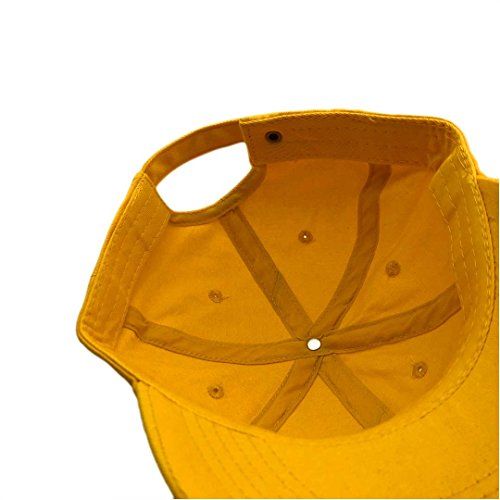 Chen Golf Wang Baseball Cap Bee Embroidered Dad Hats Adjustable Snapback Cotton Hat Unisex Yellow by chen guoqiang (Image #6)