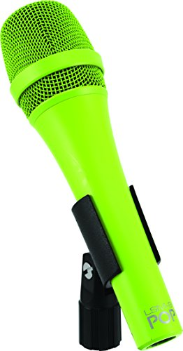 MXL Mics LSM-9-POP Premium Dynamic Handheld Vocal Microphone, Green, MXL LSM-9 POP