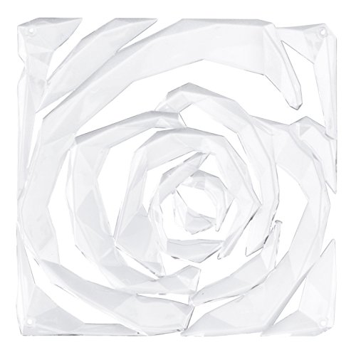 Koziol 2039535 Romance Room Divider Ornament (Set of 4), Crystal Clear