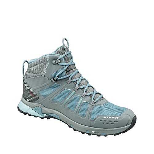 Mammut T Aenergy Mid GTX Women (Backpacking/Hiking Footwear) grey-dark air