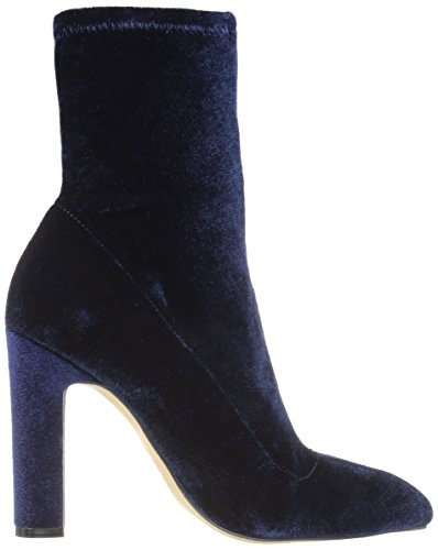 The Keyla Toe Navy Pointed Stretch Ankle Women's Bootie Fix Velvet Midnight rIpxqwErFH