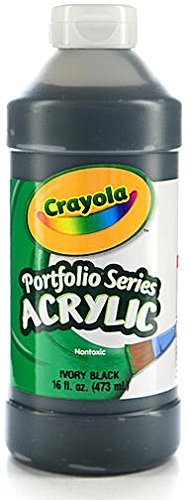 Crayola Portfolio Series Acrylic Paint (Ivory Black) 1 pcs sku# 1829698MA