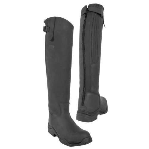 Toggi Calgary Tall Long Riding Boots Black qwNGit7