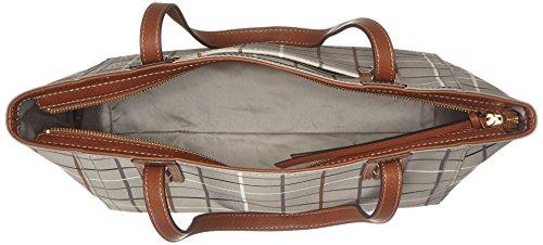 Fossil - Damen Tasche Emma - Shopper, Borse a spalla Donna Grigio (Grey)