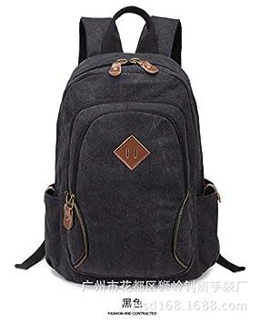 ZLK backpack Mochila De Lona Femenina Mochila Masculina Viaje De Viaje Bolsa De Ordenador Mochila Regalo: Amazon.es: Hogar