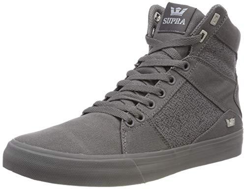 Supra Mens Aluminium Chaussure Haute, Gris (gris 020)