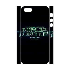 iphone 5 5s Cell Phone Case 3D Comics Teenage Mutant Ninja Turtles Movie Logo Poster 91INA91148391