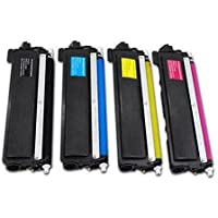 4X TN240 TN 240 Yellow ONLY Toner Compatible and Suitable for Brother MFC9120CN HL3040CN HL3045CN HL3070