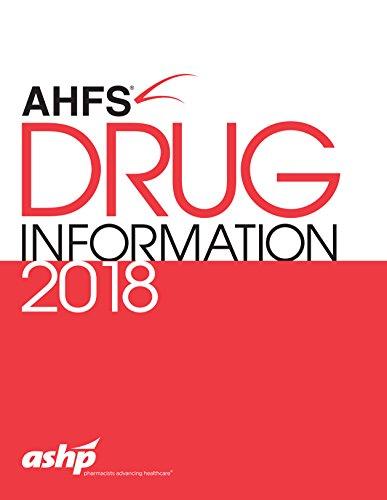 Ahfs Drug Information 2018 (Drug Information)