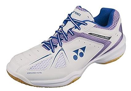 Yonex Femme Puissance Coussin 35(Blanc/Lavande) Chaussures de Badminton pour Femme, Femme, Ladies...