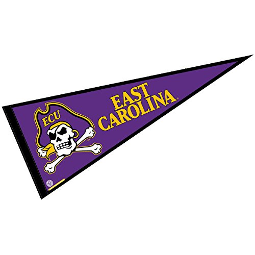 College Flags and Banners Co. ECU Pennant Full Size Felt