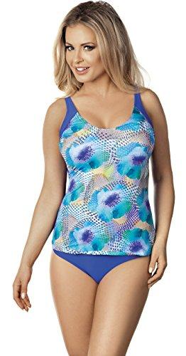 6 Modello per Lorin Costume Blu L4046 Bagno v1 da Donna qxgwp