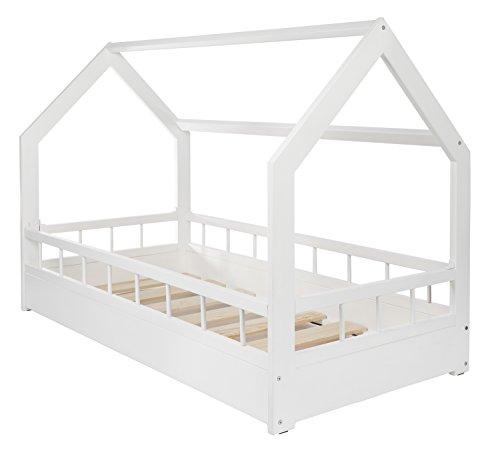 Spielbett Haus kinderbett hausbett spielbett abenteuerbett einzelbett mit