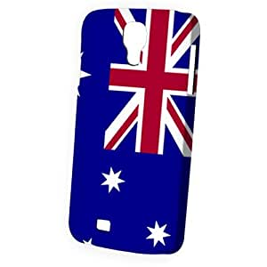 Case Fun Samsung Galaxy S4 (I9500) Case - Vogue Version - 3D Full Wrap - Flag of Australia (World Cup)