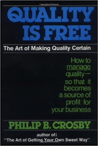 Buy Quality Is Free: The Art of Making Quality Certain Book