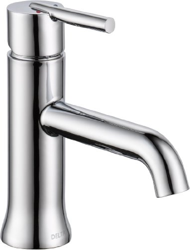 Delta Faucet Trinsic Single-Handle Bathroom Faucet, Chrome 559LF-LPU