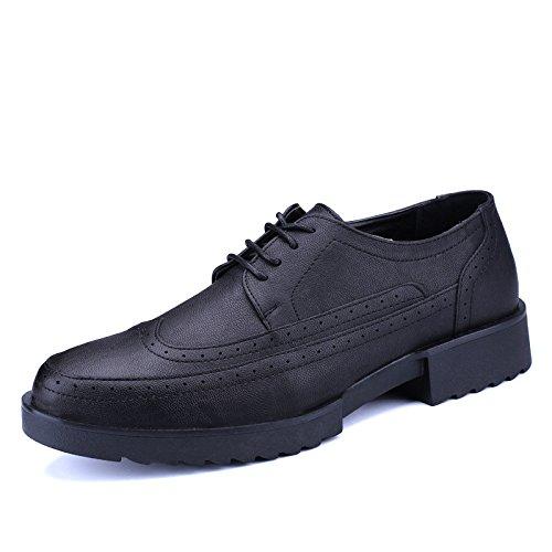 zmlsc Homme Chaussures Décontractées Chaussures Printemps Eté Automne Hiver Black RYezaJDIA8