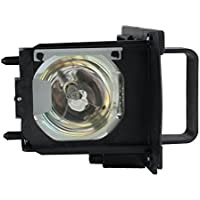 Electrified 915B455012 Replacement Lamp with Housing for Mitsubishi Projectors