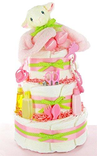 Amazon Little Lamb New Baby Girl Diaper Cake Great Baby