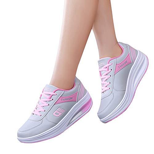Calzado Asfalto En Montaña Running bbestseller Deportes Aire Rosado Zapatillas Correr De Zapatos Casual Para Deportivo Estudiante Fitness Sneakers Libre awdqvPC