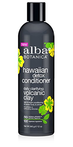 (ALBA BOTANICA Hawaiian Detox Conditioner, 12 Ounce)