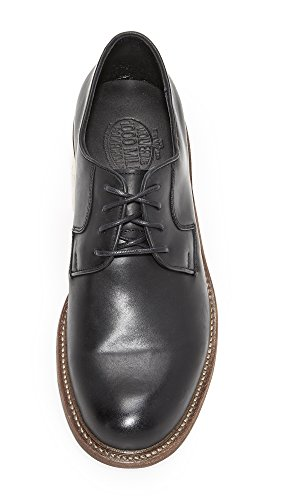 Mens Wolverine Mile Leather Wolverine 1000 Black Oxfords 1000 Luke gFHwPnzxq