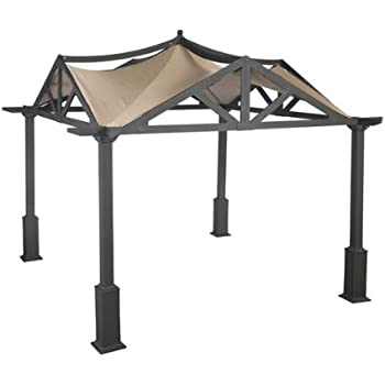 Replacement Canopy For Garden Treasures 10 39 X 10 39 Pergola Gazebo Lowes Canopies
