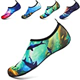 NoelLves Womens and Mens Water Shoes Barefoot Quick-Dry Aqua Socks for Beach Swim