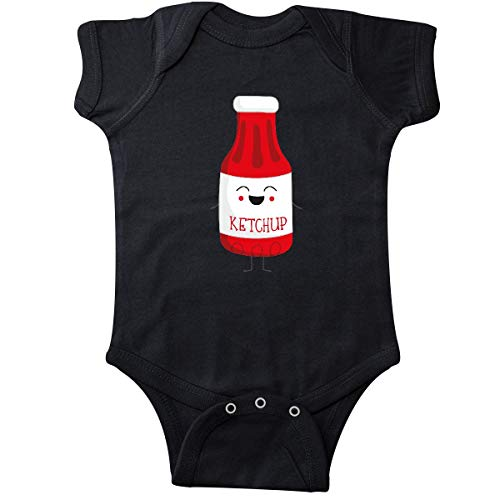 inktastic - Ketchup Costume Infant Creeper 18 Months Black 31d28