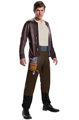Rubie's Star Wars Episode VIII: The Last Jedi Men's Poe Dameron Costume  Brown  Standard ()