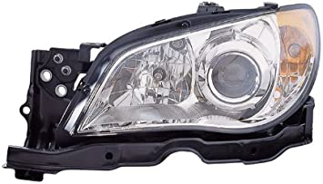 OE Replacement Subaru Impreza Driver Side Headlight Assembly Composite Unknown Partslink Number SU2502113