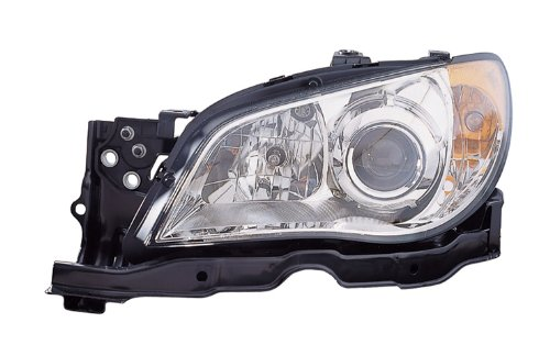 OE Replacement Subaru Impreza Driver Side Headlight Assembly Composite (Partslink Number SU2502137)