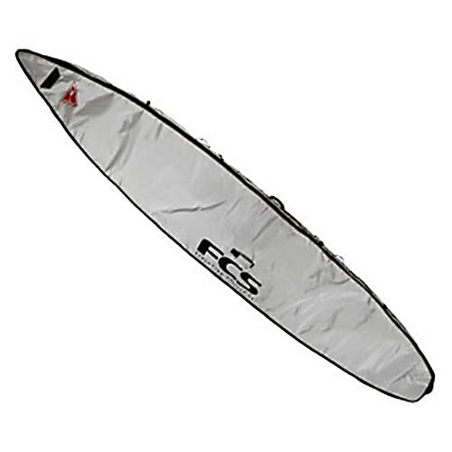FCS Stand Up Paddle Board Race Board Bag - Silver - 14 feet