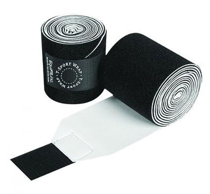 EquiFit T-Sport Wrap Pony Black