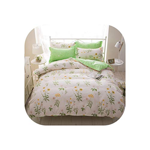 Comforter Sets Cartoon Strawberry Plant Bedding Set Twin Full Queen King Colorful Retro Doubles Pillow Cases Quilt Cover,Style 4,Full