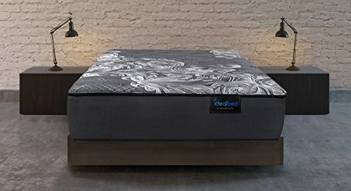 iDealBed Luxe Series iQ5 Hybrid Luxury Firm Mattress, Smart Adapt Hybrid Coil & Foam System for Optimal Temperature Regulation, Pressure Relief, and Support, Made in USA, 10 Year Warranty (TwinXL) For Sale