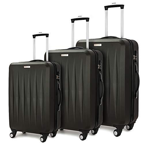 Luggage 3 Piece set ABS Hardshel...