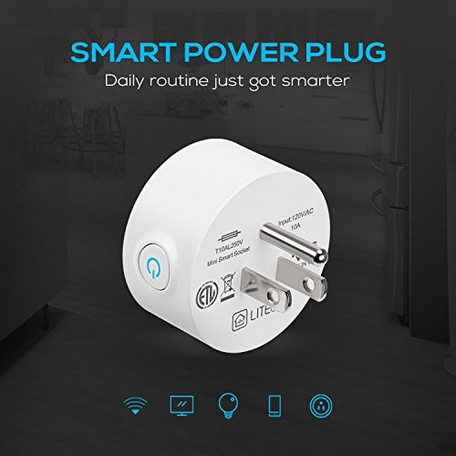 Wi-Fi Smart Plug, Mini Outlets work with Alexa, Voice APP Remote Control Socket from Anywhere with Timer Function, No Hub Required, 6 Pack by TORCHSTAR (Image #2)