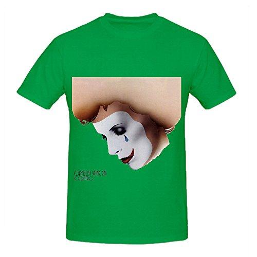 Ornella Vanoni Io Dentro Fuori Electronica Mens Digital Printed Tee Shirts