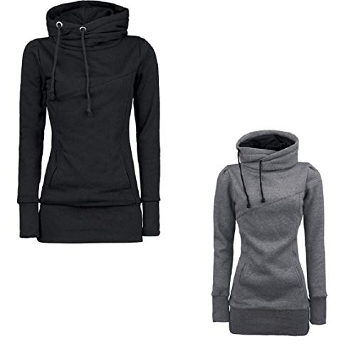 Automne Hiver Femme Sweat Manches BoBoLily Hoodie Pullover Long Sp Loisir qtw8OdE